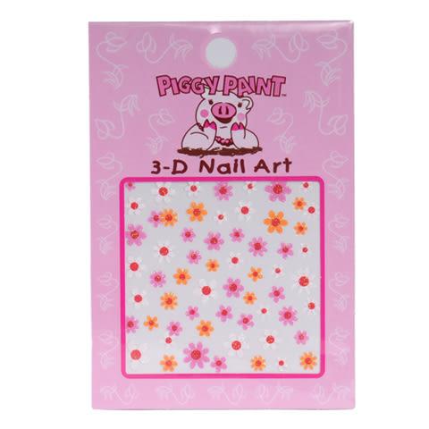 美國幼童3D藝術指甲貼: Flower: PP-0900