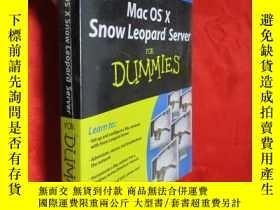 二手書博民逛書店Mac罕見OS X Snow Leopard Server fo