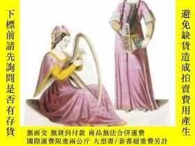 二手書博民逛書店Costume罕見And Ornament Of The Middle Ages In Full ColorY