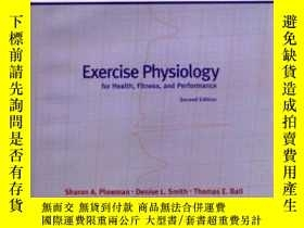 二手書博民逛書店Exercise罕見Physiology For Health, Fitness And Performance奇