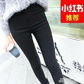 打底褲 黑色打底褲女外穿顯瘦新款春秋冬高腰加厚小腳魔術小黑褲 夏季新品