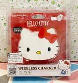 【震撼精品百貨】Hello Kitty 凱蒂貓~三麗鷗KITTY造型無線充電盤-大頭*01030