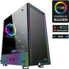 全新 SADES 賽德斯 SET 賽特 全透側A‧RGB 寬體電腦機箱