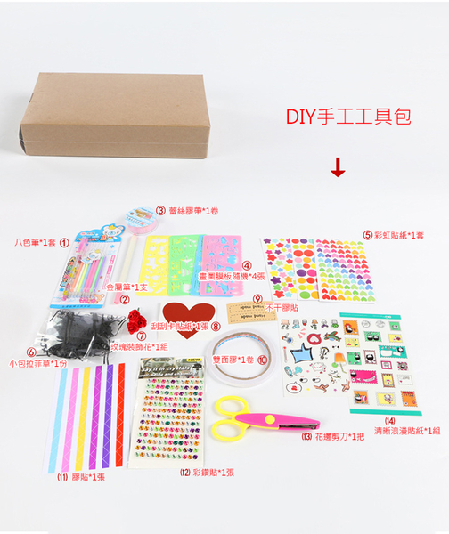 【葉子小舖】爆炸禮物盒(加購配件組賣場)/DIY手作/機關卡片/驚喜禮物/手工卡片/情人節必備
