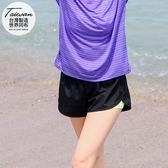 《KS0174》台灣品質.世界同布~撞色內裡吸濕透氣運動短褲 OrangeBear