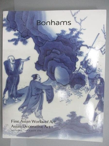 【書寶二手書T3/收藏_FOE】Bonhams_Fine Asain Works of Art/Asain…_2019/6/25-26