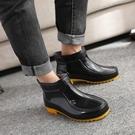 雨鞋男春夏季短筒低幫雨靴男士膠鞋時尚成人套鞋防滑防水鞋韓版新 萬聖節鉅惠