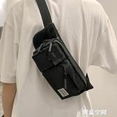 胸包男ins超火運動單肩包時尚潮流斜背包男生個性潮牌男士小腰包 創意新品