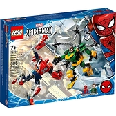 樂高積木 LEGO《 LT76198 》SUPER HEROES 超級英雄系列 - Spider-Man & Doctor Octopus Mech Battle / JOYBUS玩具百貨