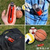 籃球游泳圈足球打氣筒氣針充便攜式雙向迷你球類充氣筒針塑料氣嘴 igo 優家小鋪