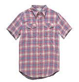 Deus Andersen Check 經典格紋 短袖襯衫