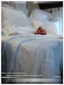 『巴黎玫瑰』(白)-法式典藏.浪漫婚紗系列*╮☆santeen 六件式專櫃高級床罩組(6*7尺)VIP獨享會員