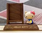 【震撼精品百貨】凱蒂貓_Hello Kitty~日本SANRIO三麗鷗 木製擺飾(可放照片)#31057