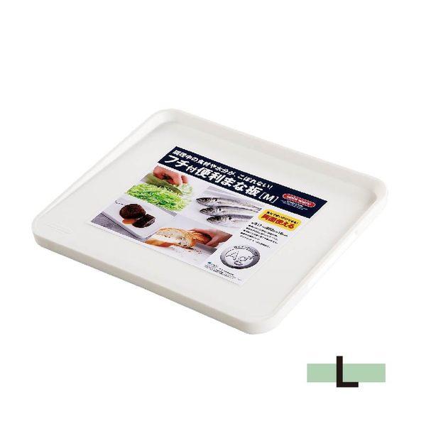日本ASVEL銀離子抗菌砧板-L / 廚房用品 衛生安全 健康環保 斜面 雙面