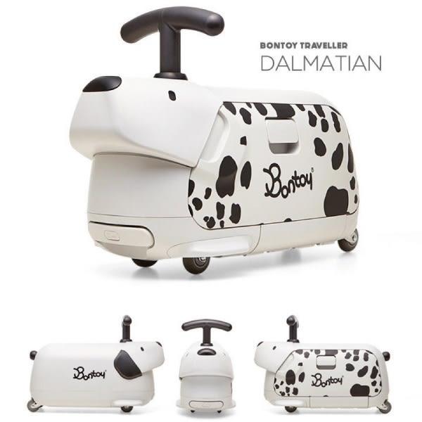 韓國 Bontoy Traveller 紅點設計美學騎乘行李箱(3款可選)
