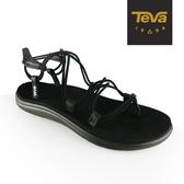 丹大戶外【TEVA】美國 女 Voya Infinity 羅馬織帶涼鞋 黑 1019622BLK