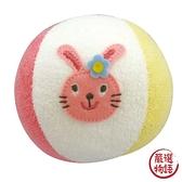 【日本製】【Rub a dub dub】幼童用 寶寶玩具球 兔子圖案 SD-9093 - Rubadubdub