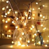 LED小彩燈串燈房間臥室宿舍節日ins裝飾閃燈滿天星星燈USB小燈泡 英雄聯盟