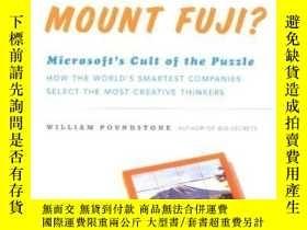 二手書博民逛書店How罕見Would You Move Mount Fuji? Microsoft s Cult Of The P