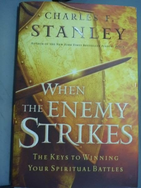 【書寶二手書T3/原文書_PHF】When The Enemy Strikes_Charles F. Stanley