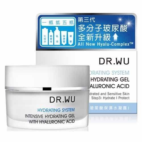DR.WU 玻尿酸保濕水凝露 30ml