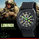 LUMINOX 雷明時 FIELD SPORTS 44mm/BK/美軍指定碳纖錶/軍錶/1101 熱賣中!