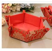 年終大清倉結婚慶用品中式結婚盤子婚禮道具喜糖盒干果盒婚房布置瓜果盤婚宴