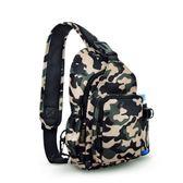 胸包女運動包斜挎包小包戰術單肩包戶外迷彩旅行背包男   小時光生活館