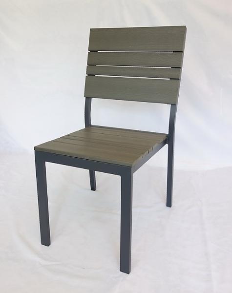 【南洋風休閒傢俱】戶外休閒桌椅系列-塑木餐椅  戶外餐椅  適戶外 餐廳 民宿(PC153)
