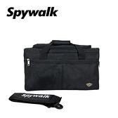 SPYWALK 簡約硬挺大旅行袋/後背包 NO:2992