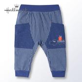 Hallmark Babies 野生動物樂園春夏男嬰長褲 HH1-B01-11-BB-NN