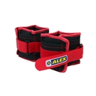 ALEX 2kg 沙包型加重器(台灣製 慢跑 健身 重量訓練 肌力訓練 可拆式≡排汗專家≡