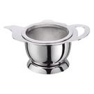 金時代書香咖啡 CafeDeTiamo 茶壺造型不鏽鋼 杓形濾網組 (附底座) HG2660