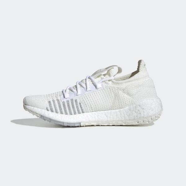 Adidas Pulseboost HD W [FU7344] 女鞋 運動 休閒 慢跑 馬牌 抓地 彈力 愛迪達 白灰