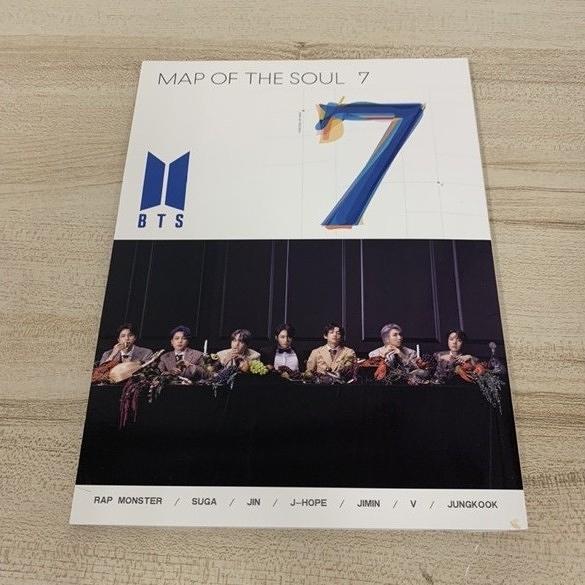 防彈少年團MAPOFTHESOUL7專輯寫真集周邊小卡(222-8106)