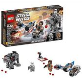 LEGO 樂高  75195  Star Wars: The Last Jedi Ski Speeder vs. First Order Walker Microfighters (216 Piece)