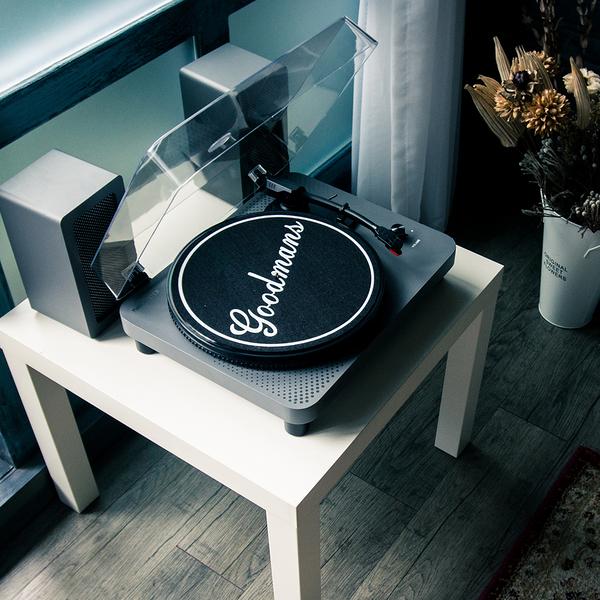 【限宅配】Goodmans MANCHESTER曼徹斯特 經典黑膠唱機