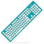 無線鍵盤 輕薄靜音巧克力鍵盤 筆記本臺式機電腦外接    琉璃美衣