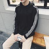 男士衛衣韓版休閒大碼長袖帶帽衫青年學生棒球服外套潮 育心小賣館