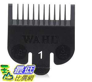 [美國直購] Wahl 1 Attachment Comb For Cuts, 1/8 Inch 適用所有 wahl full size clipper 不適用 competition 系列