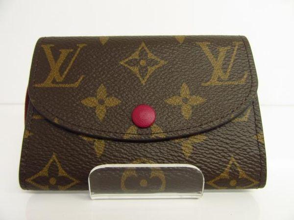 LV 原花內裡紅色卡夾 零錢包 Rosalie Coin Purse M41939 【BRAND OFF】