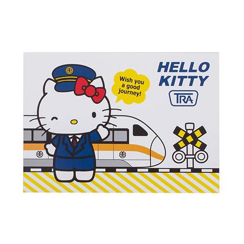 《Sanrio》HELLO KITTY*台鐵太魯閣號-特色景點明信片(太魯閣)★funbox生活用品★ RD00361