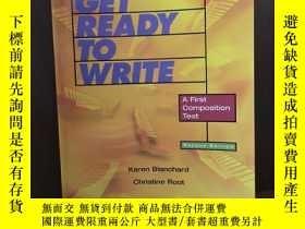 二手書博民逛書店Get罕見Ready To Write A First Composition Text (2nd Edition