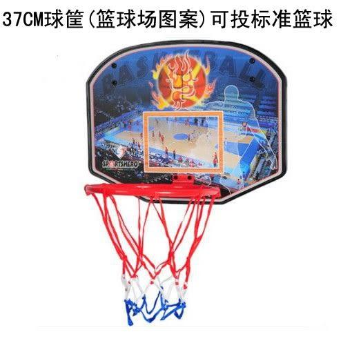 大號兒童籃球框 室內壁掛式籃球筐 移動籃球架 可折疊投標準籃球YYP   傑克型男館
