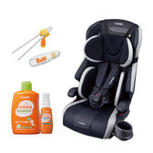康貝 Combi Joytrip EG 成長型汽車安全座椅-跑格藍 (贈和草保濕防蚊組合+學習筷)