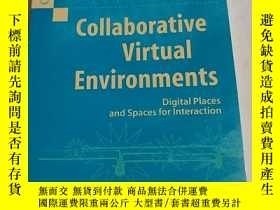 二手書博民逛書店Collaborative罕見Virtual Environme