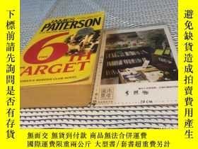二手書博民逛書店英文原版罕見the 6th target :a Women s