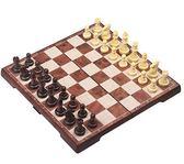 友邦UB木塑國際象棋磁性 便攜折疊棋盤超大中小號 比賽用棋31*31公分【店慶免運八九折鉅惠】