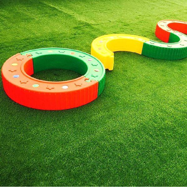 健身房幼兒園陽台戶外人造塑料人工仿真假草坪室內庭院樓頂草皮墻 玩趣3C