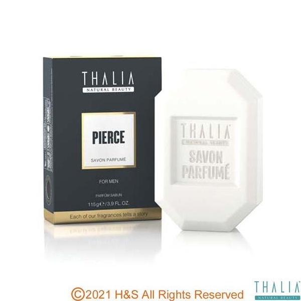【南紡購物中心】【THALIA】塔莉雅男士穿透海風香氛皂(鐵灰Pierce)